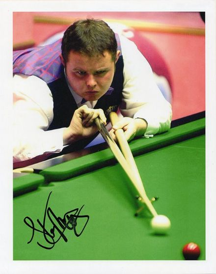 Stephen Lee, English snooker player, signed 10x8 inch photo.